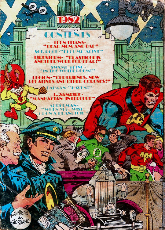 Best of DC Blue Ribbon Digest, Year's Best Comics Stories #35 (1982)