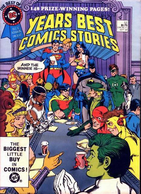Best of DC Blue Ribbon Digest, Year's Best Comics Stories #52 (1984)