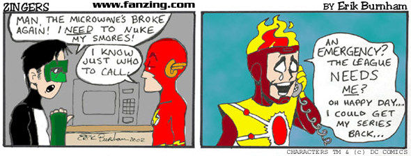 Firestorm in Zingers