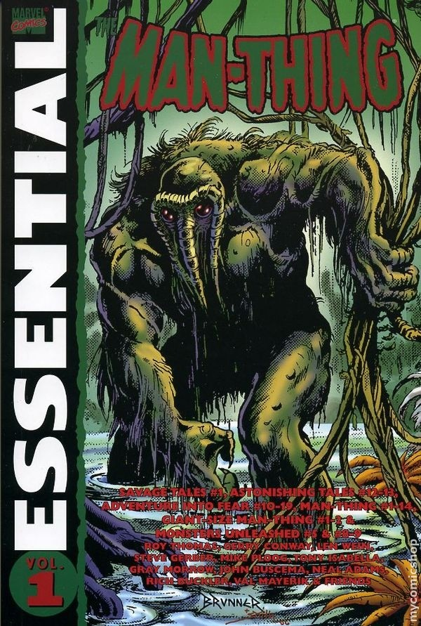 Essential Man-Thing volume 1