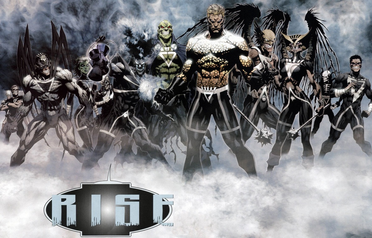 Deathstorm's Black Lantern squad from Brightest Day #11