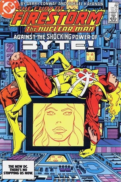 Fury of Firestorm #23 - Against the Shocking Power of Byte!